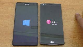 getlinkyoutube.com-Microsoft Lumia 950XL vs LG G4 - Speed & Camera Test (4K)