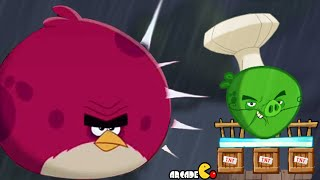 getlinkyoutube.com-Angry Birds Under Pigstruction - BOSS LEVEL 100 CHEF PIG Chirp Valley Daily Event! iOS/Android