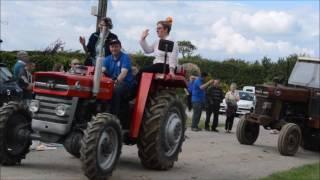 Défilé des vieilles mécaniques au  hameau de campagnette (Wavrans sur l'aa)