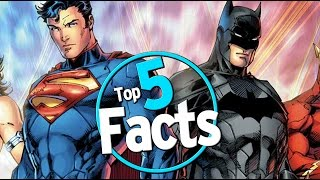 Top 5 Facts About DC Comics