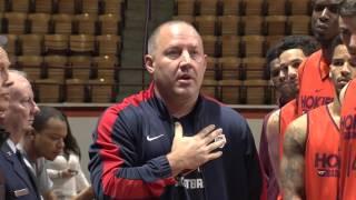 getlinkyoutube.com-Men's Basketball Veteran's Day Recognition