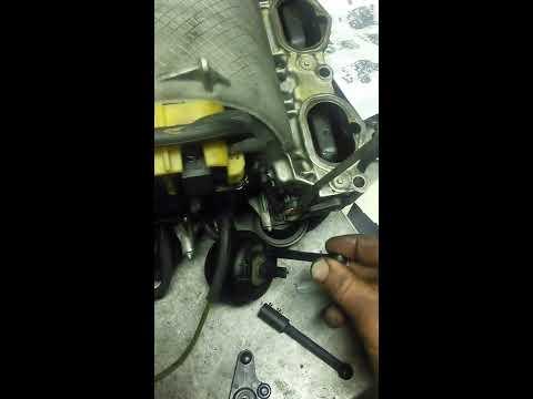 Ремонт впускного коллектора Mercedes-Benz ML350 M272