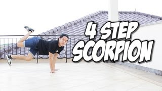getlinkyoutube.com-Bboy Tutorial I 4 Step Scorpion I