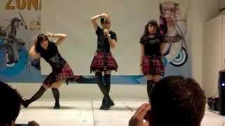 getlinkyoutube.com-【Candy Bar Girls】Baby Metal Mix / ギミチョコ!!- メギツネ 【Dance Cover】