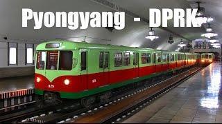 getlinkyoutube.com-PYONGYANG METRO (KOMPLETT) - Beide Linien der U-Bahn in Pyongyang (13.04.2015)