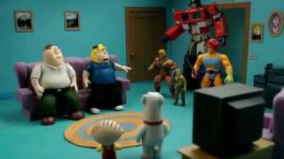 getlinkyoutube.com-Family Guy in Robot Chicken (The Multiverse Chronicles)
