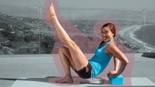 getlinkyoutube.com-Block-Buster Pilates Workout   Pilates Bootcamp With Cassey Ho