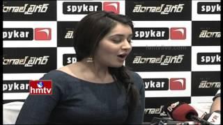 getlinkyoutube.com-Rashi Khanna Sings a Song | Bengal Tiger Movie Promotion | HMTV