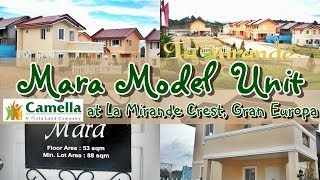 getlinkyoutube.com-Mara Model Unit at La Mirande Crest, Gran Europa, CDO | ILoveCDOhomes