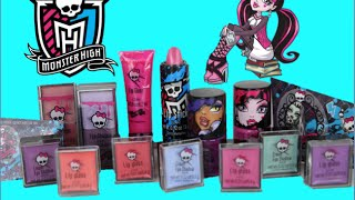 getlinkyoutube.com-Monster High Ghouls Rule! Cosmetic Locker (armario de distribución, 化粧ロッカー, maquillage casier)