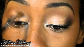 Naked 2 Palette Look # 1