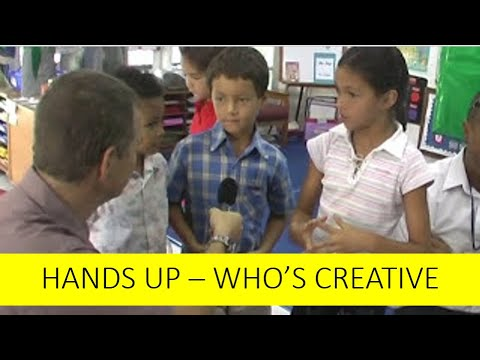 Hands Up Part 3:Creativity secrets from the Experts