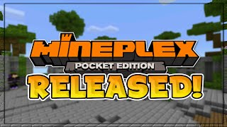 MINEPLEX SERVER RELEASED for MCPE!! - New Multiplayer Server - Minecraft PE (Pocket Edition)