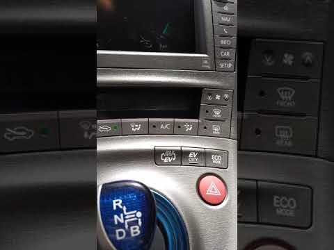 EV расстояние на Prius PlugIn 2012
