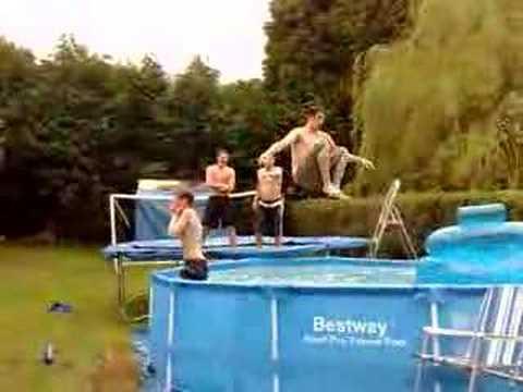 На сколько прочен каркасный бассейн Bestway.