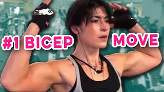 best upper bicep workout
