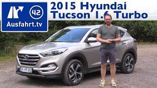 getlinkyoutube.com-2015 Hyundai Tucson 1.6 Turbo - Fahrbericht der Probefahrt, Test, Review (German)