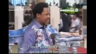 getlinkyoutube.com-Water Theraphy For Your Health by TB Joshua