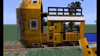 getlinkyoutube.com-Minecraft Tren Modu Tanıtımı