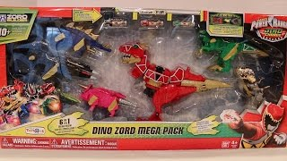 getlinkyoutube.com-Dino Zord Mega Pack Review [Power Rangers Dino Charge]