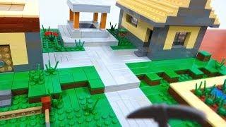 getlinkyoutube.com-LEGO Minecraft Village