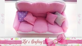 getlinkyoutube.com-Диван для кукол - Sofa for a doll