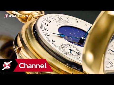Top 5 chiếc đồng hồ đắt nhất thế giới