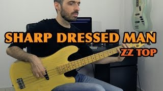 SHARP DRESSED MAN - ZZ Top - Bass Cover /// Bruno Tauzin
