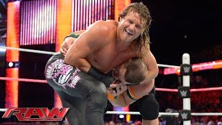 getlinkyoutube.com-John Cena vs. Dolph Ziggler - United States Championship Match: Raw, October 12, 2015