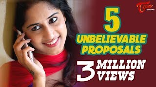 getlinkyoutube.com-5 Unbelievable Proposals | Latest Tamil Short Film 2016 | By Chakradhar Reddy B | #TamilShortFilms