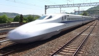 getlinkyoutube.com-山陽新幹線 高速通過集 MAX.speed 300km/h Japanese Bullet Train - Shinkansen