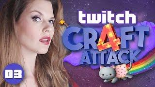 getlinkyoutube.com-CRAFT ATTACK 4 ★ [Facecam] #03 Du wirst sehen!! ★ Twitch Livestream 05. Dez 2016