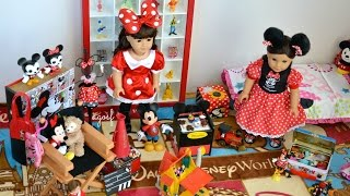 getlinkyoutube.com-American Girl Dollhouse Room ~ Disney