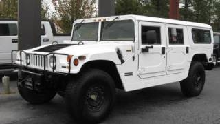2000 AM General Hummer H1 Passenger Wagon Start Up, Engine, and In Depth Tour
