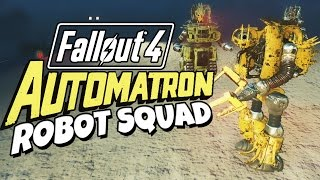 getlinkyoutube.com-Fallout 4 - Automatron Robot Squad
