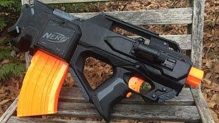 getlinkyoutube.com-Nerf Mod: FN-F2000 Inspired Tactical Gun (Tac Ven ECS-10)