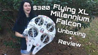 getlinkyoutube.com-Review: The Millennium Falcon XL Quadcopter ( $300 MSRP!!! )