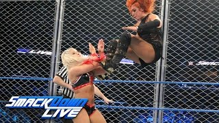 getlinkyoutube.com-Becky Lynch vs. Alexa Bliss - SmackDown Women's Title Steel Cage Match: SmackDown LIVE, Jan 17, 2016