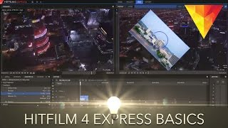 getlinkyoutube.com-Hitfilm 4 Express Beginner's Tutorial - Adding video, music, effects, text and exporting