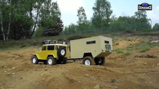 "getlinkyoutube.com-TAMIYA TOYOTA  Land Cruiser "" OFF ROAD CARAVAN "" MATOJE OFF ROAD EXPERIENCE"