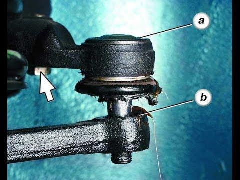 Как стучит рулевой наконечник