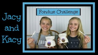 getlinkyoutube.com-Fondue Challenge ~ Jacy and Kacy