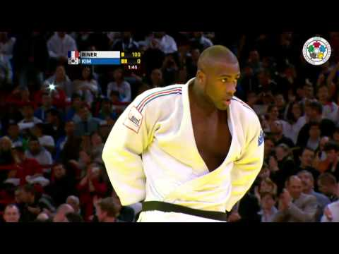 Judo Grand Slam Paris 2013: Final +100kg   RINER, Teddy (FRA