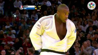 getlinkyoutube.com-Judo Grand Slam Paris 2013: Final +100kg   RINER, Teddy (FRA) -  KIM, Sung-Min (KOR)