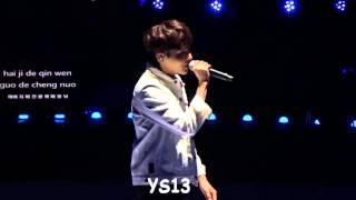 getlinkyoutube.com-151206 KRY ASIA TOUR IN TAIPEI - RYEOWOOK厲旭 SOLO 原諒我