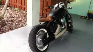 Vstar 650 bobber after exhaust