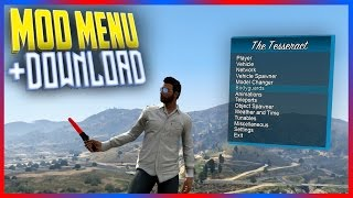 getlinkyoutube.com-INSANE FREE GTA 5 Mod Menu - THE TESSERACT v1.5.0 + DOWNLOAD (GTA 5 MODS)