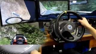 getlinkyoutube.com-Lancia Delta S4 - Transfagarasan - rFactor - T500RS - TH8RS