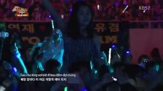 getlinkyoutube.com-Hyorin (SISTAR) Hello Vietnam + Suho, Xiumin, Chanyeol and Chen (EXO) Người Ấy @