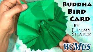 getlinkyoutube.com-Origami Buddha Bird Pop-up Card (with music)
